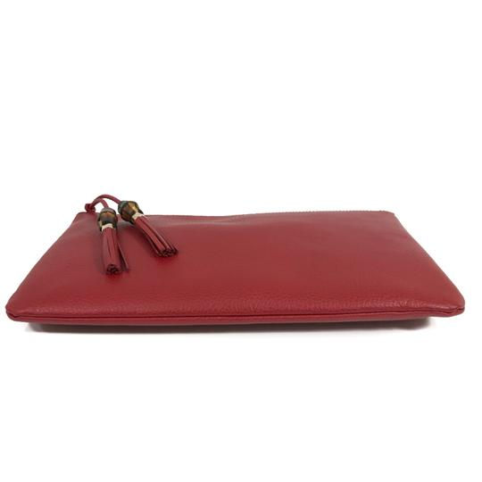 Gucci Bags Pouches 449653 Red Clutch Image 7