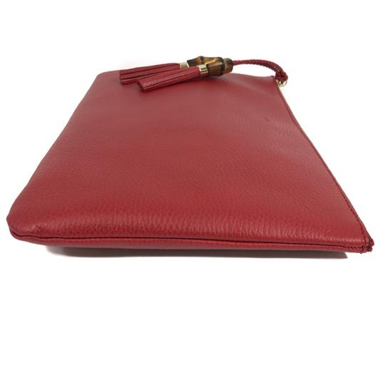 Gucci Bags Pouches 449653 Red Clutch Image 8