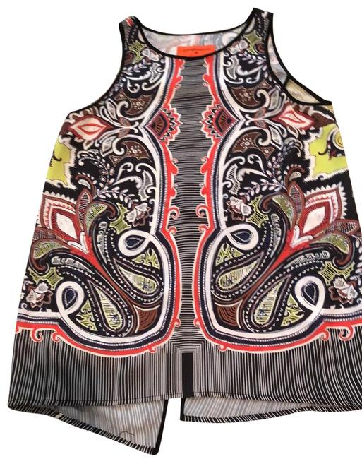 Item - Multicolor Printed Tank Top/Cami Size 2 (XS)