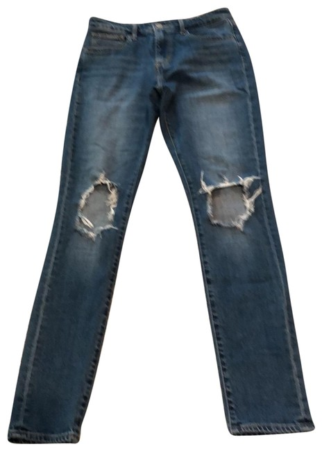Levi's High Waited Skinny Jeans Size 4 (S, 27) Levi's High Waited Skinny Jeans Size 4 (S, 27) Image 1