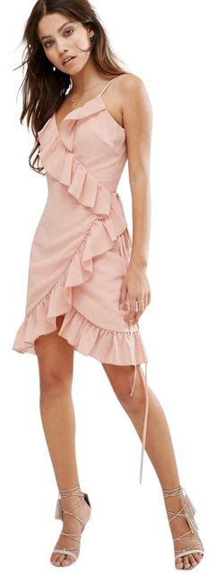Preload https://img-static.tradesy.com/item/25522329/dusty-pink-romantic-asos-blush-retro-style-frills-sm-short-casual-dress-size-8-m-0-1-650-650.jpg
