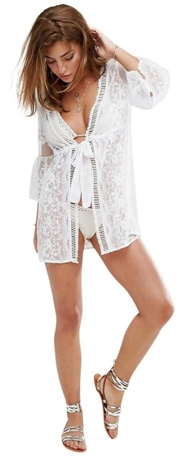 Preload https://img-static.tradesy.com/item/25522364/river-island-ivory-white-sexy-tunic-lace-mesh-floral-embroidered-caftan-cover-upsarong-size-12-l-0-1-650-650.jpg