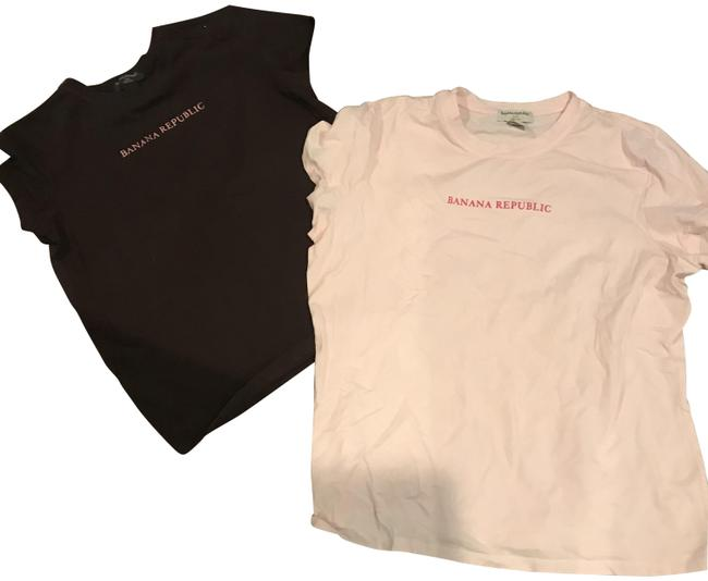 Item - 2 -1 Price Pink and Brown For Logo Tee Shirt Size 16 (XL, Plus 0x)