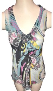 Sweet Pea by Stacy Frati Top blue