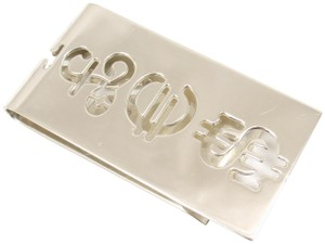 Tiffany & Co. Sterling Silver Currency Money Clip