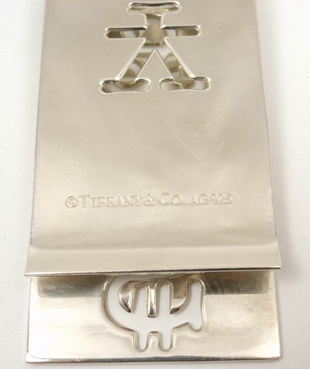 Tiffany & Co. Sterling Silver Currency Money Clip Image 3