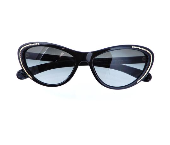 Chanel CH 6049 c.1478/S8 Quilted Polarized Sunglasses 55mm Italy Image 2