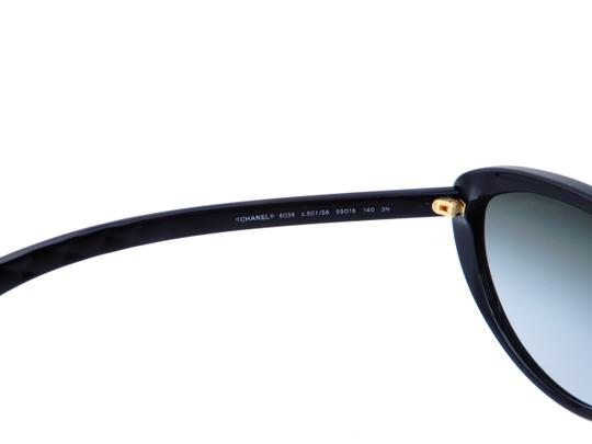 Chanel CH 6049 c.1478/S8 Quilted Polarized Sunglasses 55mm Italy Image 8