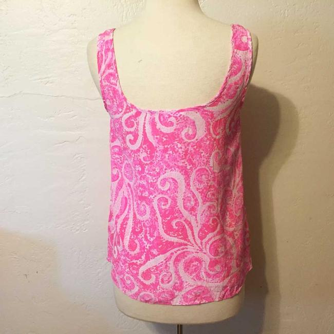 Lilly Pulitzer Pout Silk Top Pink Image 2
