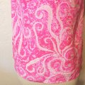 Lilly Pulitzer Pout Silk Top Pink Image 5