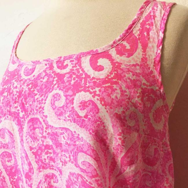 Lilly Pulitzer Pout Silk Top Pink Image 6