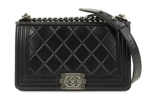 Chanel Coco Mademoiselle Caviar Karl Lagerfeld Matelasse Shoulder Bag