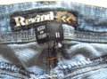 Rewind Blue Distressed Stretch Capri/Cropped Jeans Size 33 (10, M) Rewind Blue Distressed Stretch Capri/Cropped Jeans Size 33 (10, M) Image 7