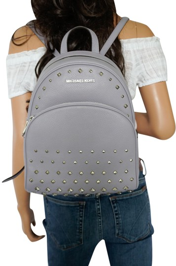 Preload https://img-static.tradesy.com/item/25522595/michael-kors-abbey-medium-studs-purple-lilac-pebbled-leather-backpack-0-1-540-540.jpg