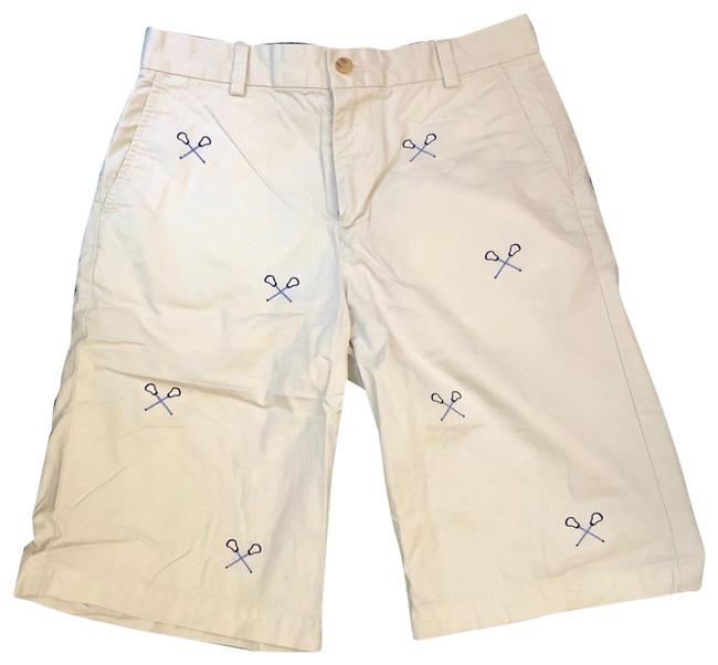Vineyard Vines Tan Boys Lacrosse Sticks Shorts Size OS (one size) Vineyard Vines Tan Boys Lacrosse Sticks Shorts Size OS (one size) Image 1