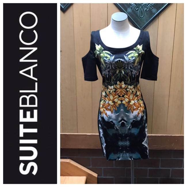Preload https://img-static.tradesy.com/item/25522713/black-with-palm-trees-flowers-and-mountains-or-oceans-scenes-cold-shoulder-short-night-out-dress-siz-0-0-650-650.jpg