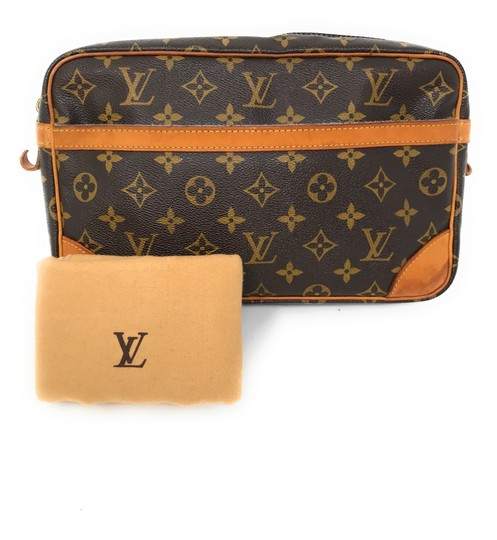 Preload https://img-static.tradesy.com/item/25522973/louis-vuitton-compiegne-28-brown-monogram-canvas-and-leather-wristlet-0-0-540-540.jpg