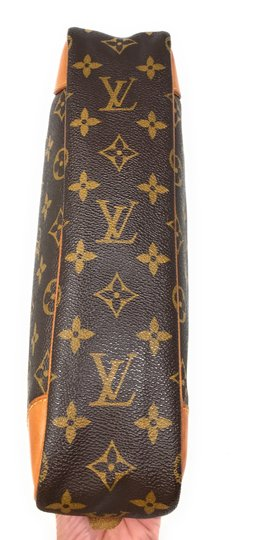 Louis Vuitton Monogram Canvas Clutches Handbags Purses Wristlet in Brown Image 4