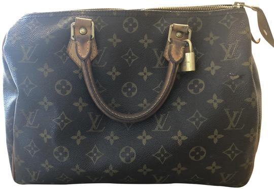 Preload https://img-static.tradesy.com/item/25523036/louis-vuitton-speedy-monogram-brown-leather-tote-0-1-540-540.jpg