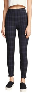 T by Alexander Wang Plaid Casual Sassy Skinny Jeans