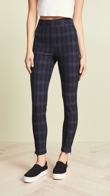 T by Alexander Wang Plaid Casual Sassy Skinny Jeans Image 4