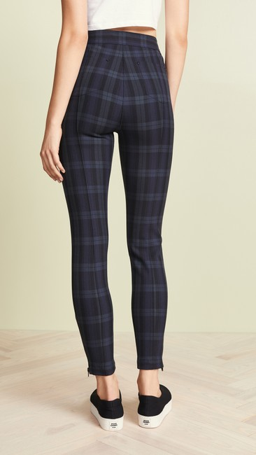 T by Alexander Wang Plaid Casual Sassy Skinny Jeans Image 5