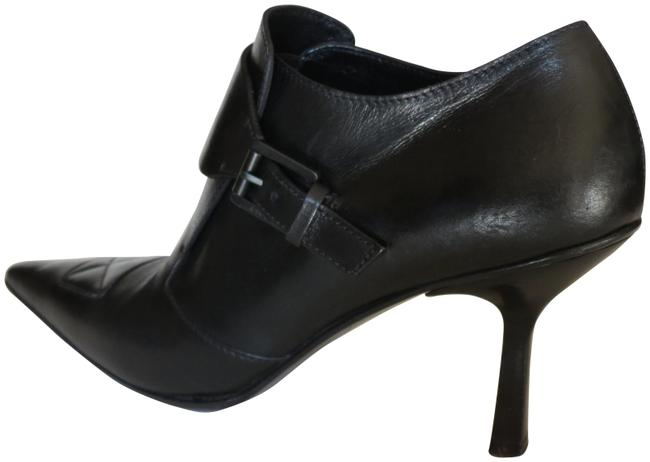 Gucci Black Leather Pointed-toe It Boots/Booties Size EU 38 (Approx. US 8) Regular (M, B) Gucci Black Leather Pointed-toe It Boots/Booties Size EU 38 (Approx. US 8) Regular (M, B) Image 1