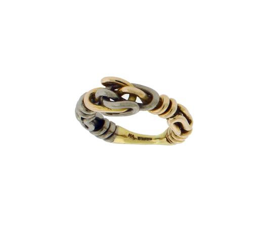 HA Gucci Icon thin band band ring in 18k yellow gold new in box size 6.5 Image 2