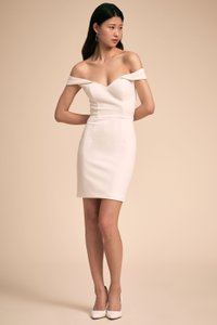 BHLDN White Poly-spandex; Polyester Lining Empress Casual Wedding Dress Size 6 (S)