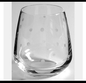 Kate Spade Etched Crystal Larabee Dot™ Stemless White Wine Glasses (Set Of 4) Barware