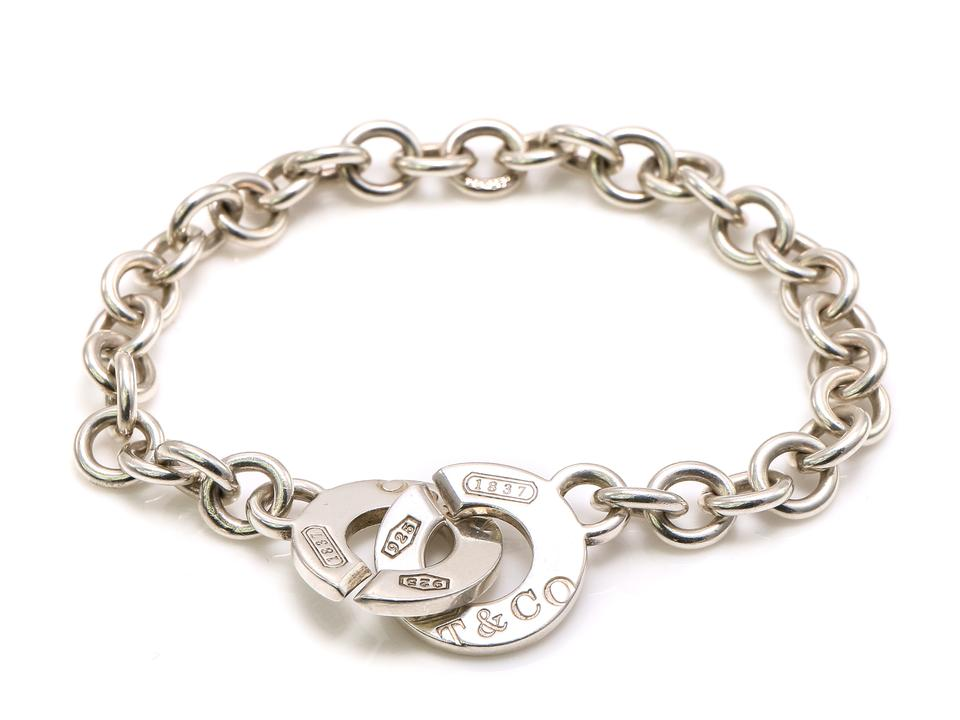e492de6b2 Tiffany & Co. 1837 Circle Clasp Charms Toggle Bracelet Image 0 ...