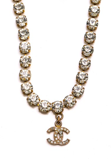 Chanel Chanel Accessory Rhinestones Year 97 Rare Necklace Seen Worn By Miley Image 1