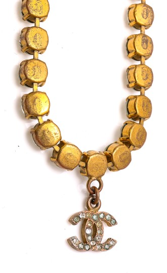 Chanel Chanel Accessory Rhinestones Year 97 Rare Necklace Seen Worn By Miley Image 3