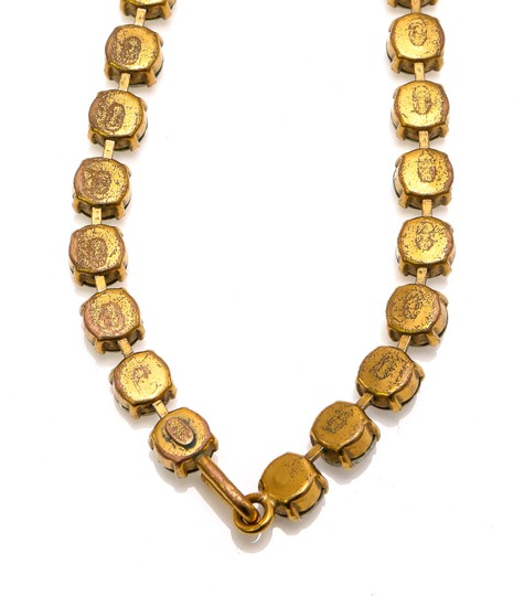 Chanel Chanel Accessory Rhinestones Year 97 Rare Necklace Seen Worn By Miley Image 4