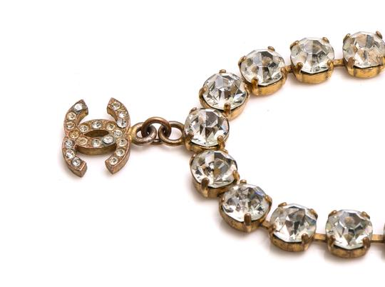 Chanel Chanel Accessory Rhinestones Year 97 Rare Necklace Seen Worn By Miley Image 6