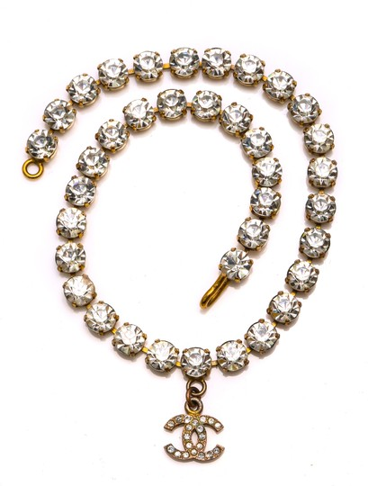 Chanel Chanel Accessory Rhinestones Year 97 Rare Necklace Seen Worn By Miley Image 7
