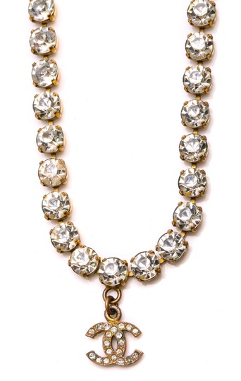 Chanel Chanel Accessory Rhinestones Year 97 Rare Necklace Seen Worn By Miley Image 8