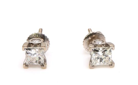 Diamond Earrings Princess Cut Diamond Studs Earrings Image 1