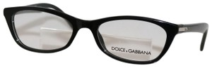 Dolce&Gabbana New Authentic Dolce & Gabbana D&G 1218 501 Black Eyeglasses 51mm
