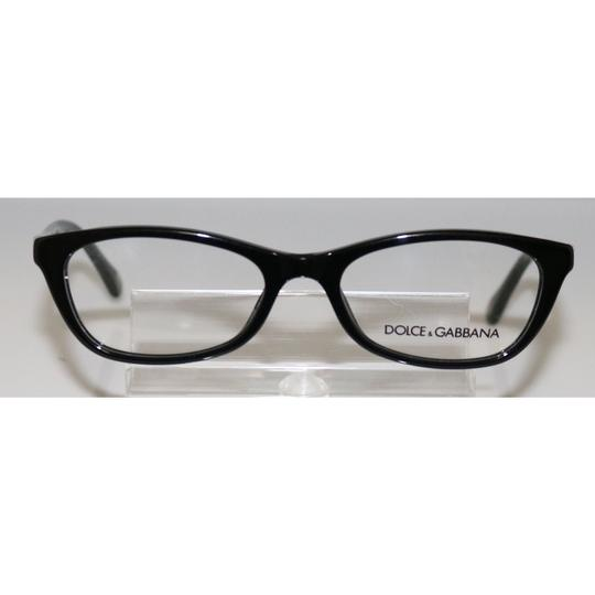 Dolce&Gabbana New Authentic Dolce & Gabbana D&G 1218 501 Black Eyeglasses 51mm Image 1
