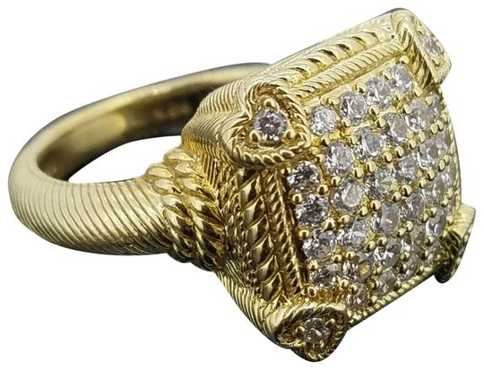 Preload https://img-static.tradesy.com/item/25523485/judith-ripka-gold-clad925-olivia-diamonique-pave-size-6-ring-0-1-540-540.jpg