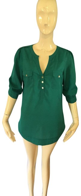 41Hawthorn Green Blouse Size 6 (S) 41Hawthorn Green Blouse Size 6 (S) Image 1