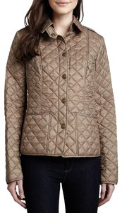 Burberry Quilted Khaki tan Jacket