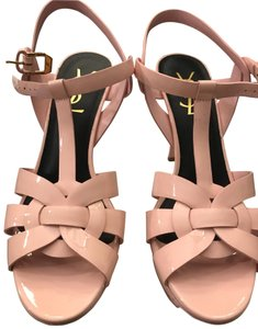Saint Laurent pink Platforms