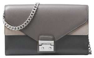 Michael Kors Leather Wallet Chain Cross Body Bag