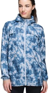 Lululemon Lululemon Blue Sliver Fox Miss Missy Outerwear Jacket
