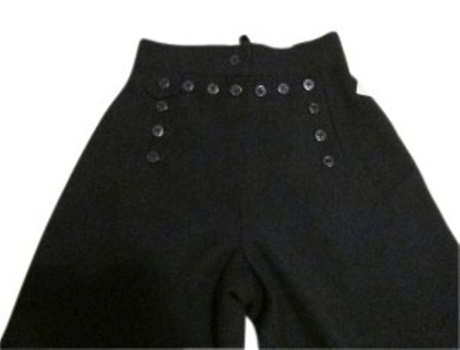 Preload https://img-static.tradesy.com/item/25524/ralph-lauren-navy-wool-button-front-lace-back-flared-pants-size-petite-2-xs-0-0-650-650.jpg