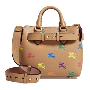 Burberry Satchel in Light Camel