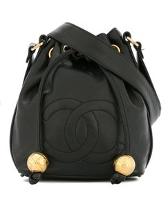 Chanel Micro-mini Vintage Drawstring Bucket Cross Body Bag