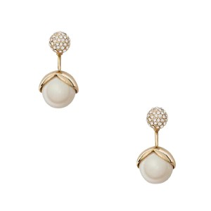Kate Spade pretty pearly ear jacket